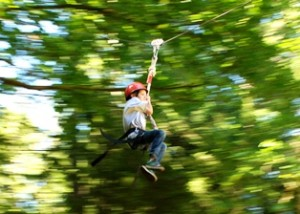 Summer Camp Accreditation, Summer Camp Zip Line - Canadian Summer Camps, Canadian Camping Association