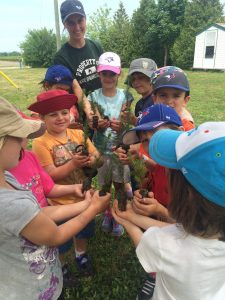 Canadian summer campers planted over 13,000 trees provided by ChariTREE this summer.